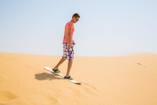 Sand Surfing Dubai