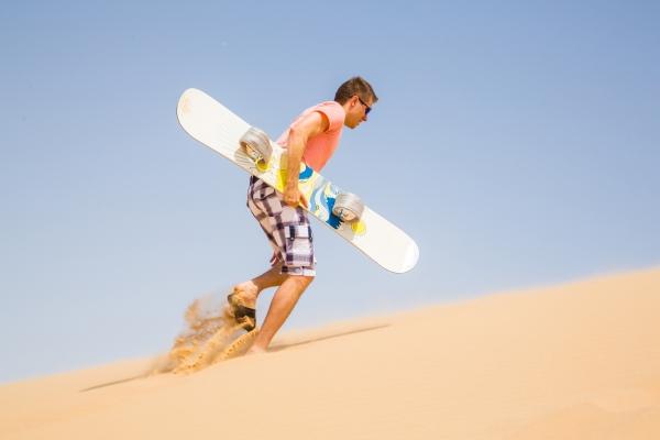 Dubai Sandboarding Tours