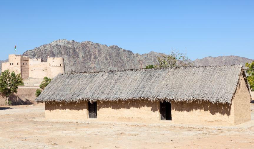Fujairah Heritage Village-places to visit in fujeriah