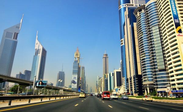 Dubai Sheikh Zayed Road | Dubai Attractions