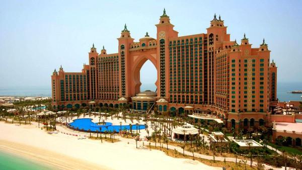 Atlantis Hotel-Dubai City Tour with Burj Khalifa Entry Ticket