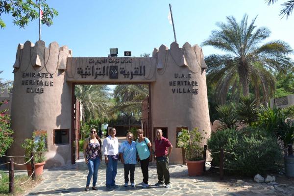 Abu Dhabi Heritage Village-Abu Dhabi City Tour from Dubai 1