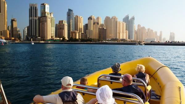 Dubai Yellow Boat Tour