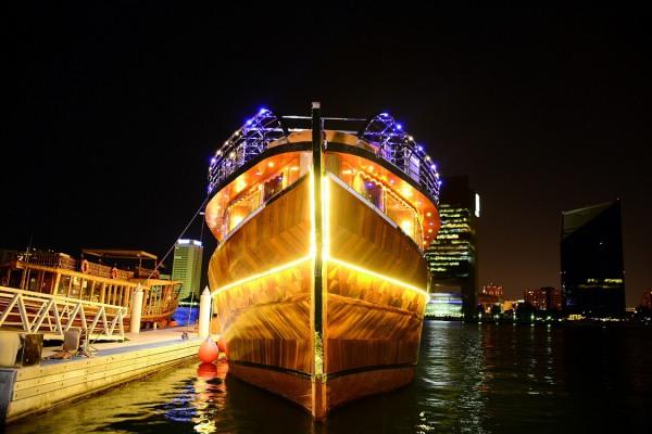 Dhow Cruise Creek-Dubai Combo Tours